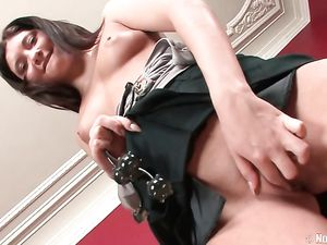 Pleated Skirt Slut Is Ready For Her Anal Scene