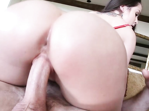 Sweetly Curvy Girl Loves Big Dick Buried Balls Deep
