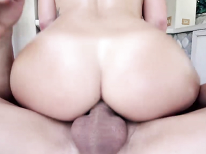 Curvy Cock Whore Keisha Grey Banged From Behind