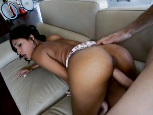 Round Latina Ass Is Amazing In A Fuck Scene