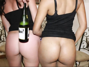 Party Girls Have A New Years Even Threesome