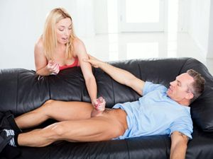 Fit Dad Fucks The Beautiful Young Blonde Babysitter